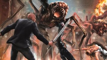 Závěrečný díl akční městské fantasy Paměti lovce monster od autorského dua Larry Correia a John Ringo. Zdroj: výřez knižní obálky.