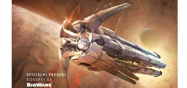 Knižní prequel k PC hře Mass Effect - Andromeda 3: Anihilace od Catherynne M. Valenteové. Zdroj: výřez knižní obálky.