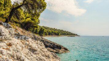Mamma mia Řecko ostrov